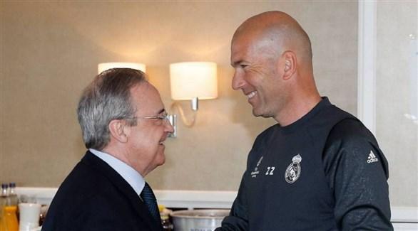 بيريز وزيدان يسعيان لإحداث ثورة في ريال مدريد