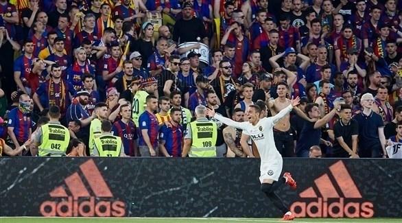 فالنسيا يحرم برشلونة من كأس ملك إسبانيا