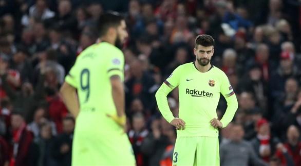 بعد الرباعية .. سواريز يُهاجم مدافعي برشلونة !