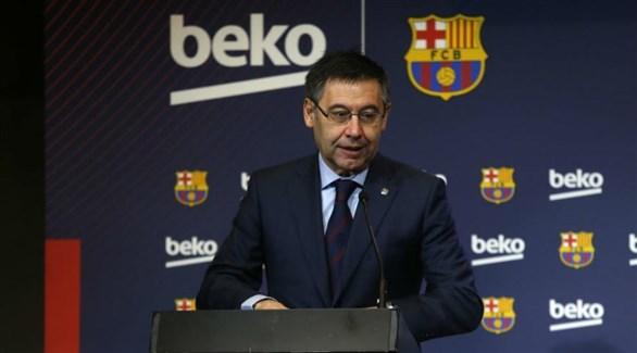 رئيس برشلونة :  سيكون هناك وقت للتفكير بعد رباعية ليفربول