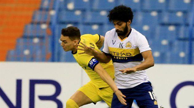 الجبرين أفضل لاعب في مواجهة النصر والوصل