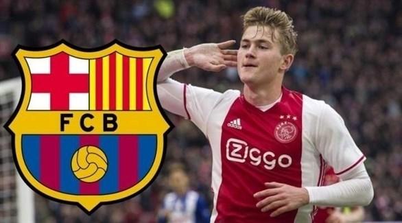 برشلونة يقترب من حسم صفقة دي ليخت مقابل 75 مليون يورو