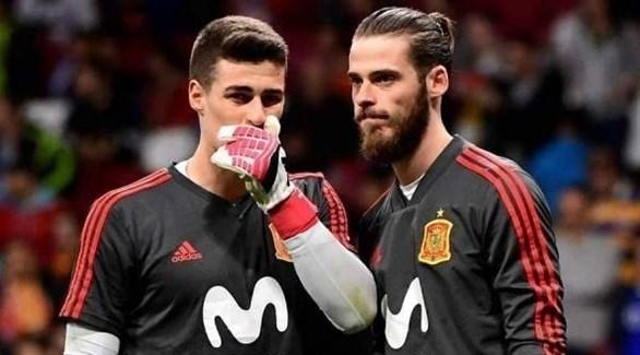 تألق كيبا يجبر دي خيا على البقاء احتياطياً في منتخب إسبانيا