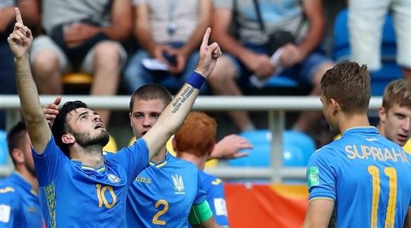 أوكرانيا تتأهل إلى نهائي مونديال الشباب