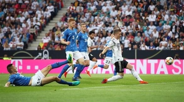 ألمانيا تقسو على إستونيا بـ ثمانية أهداف