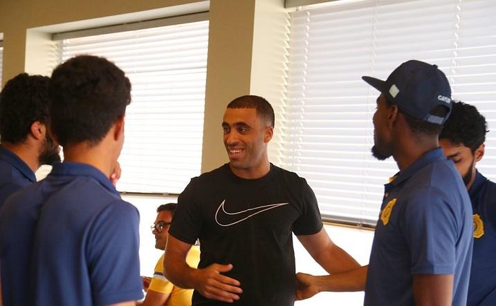 حمدالله ينتظم في معسكر النصر في البرتغال