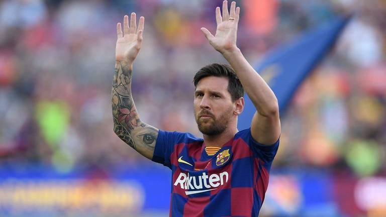 ميسي يغيب عن مباراة برشلونة الافتتاحية في الليغا