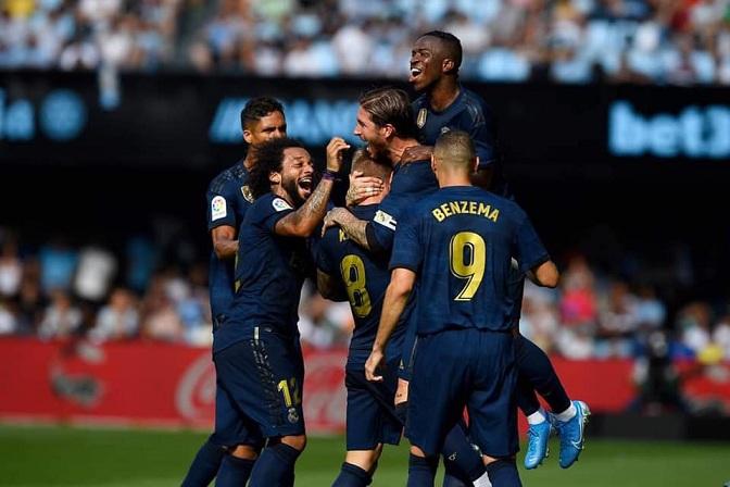 ريال مدريد يستعرض في شباك سلتا فيغو بثلاثية
