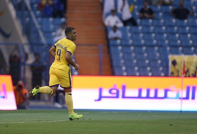 النصر يعلن إصابة حمدالله بالتواء في مفصل القدم