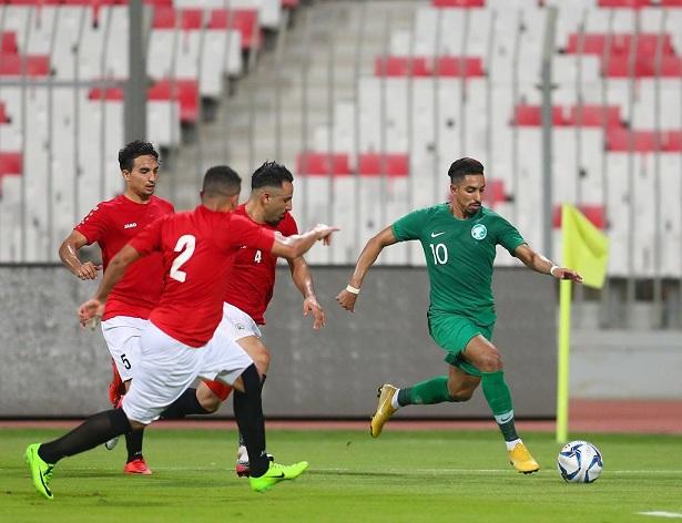 الأخضر السعودي يسقط في فخ التعادل أمام اليمن