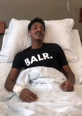 لاعب الوحدة يجري عملية جراحية ناجحة في ألمانيا