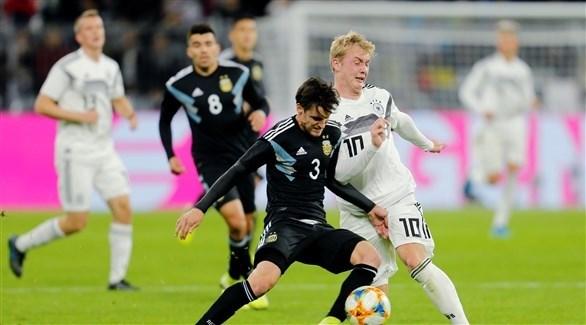 قمة الأرجنتين وألمانيا تنتهي بتعادل إيجابي