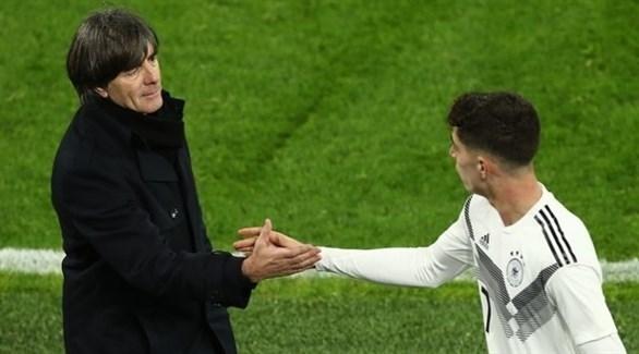 لوف سعيد بأداء شباب ألمانيا أمام الأرجنتين