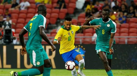 ودياً .. التعادل الإيجابي يحسم ودية البرازيل والسنغال