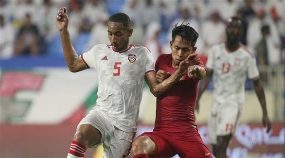 علي مبخوت يقود الإمارات لسحق إندونيسيا