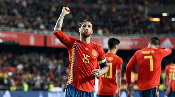 رقم قياسي ينتظر راموس في مباراة إسبانيا والنرويج
