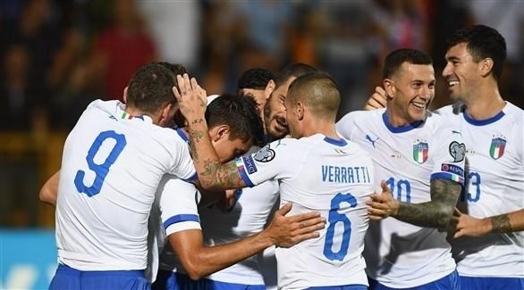 إيطاليا عينها على بطاقة التأهل من بوابة اليونان
