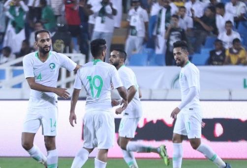المنتخب السعودي يكتسح سنغافورة بـ ثلاثية