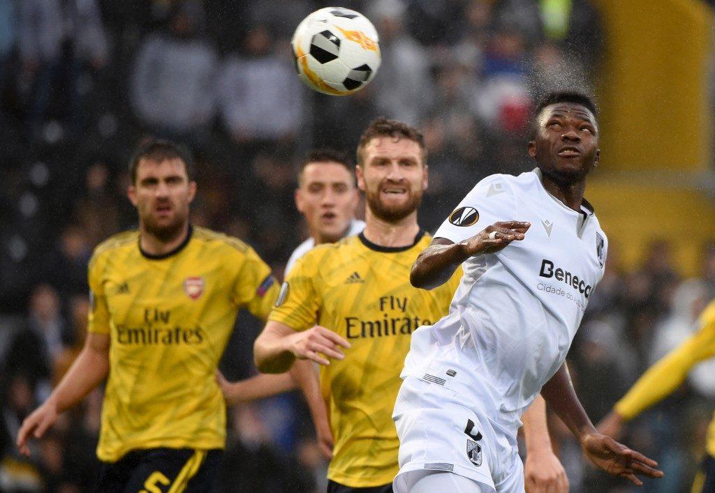 الدوري الأوروبي : آرسنال يتعادل مع جيمارايش ويضع قدماً في دور الـ 32