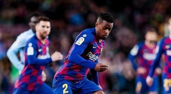 برشلونة يعلن عن فترة غياب سيميدو للإصابة