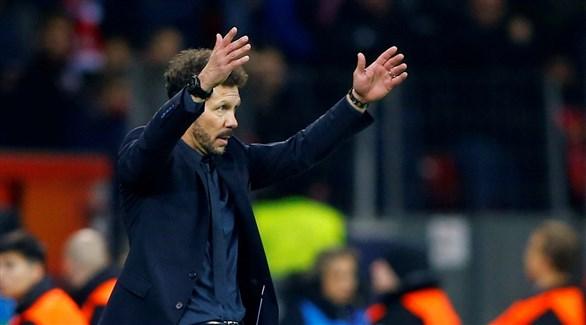 مدرب أتلتيكو مدريد : أنا المسؤول الأول عن الهزيمة أمام ليفركوزن
