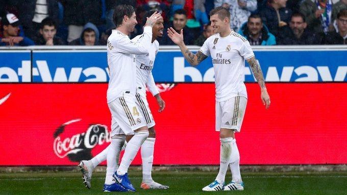 ريال مدريد في صدارة الليغا بالفوز على ألافيس