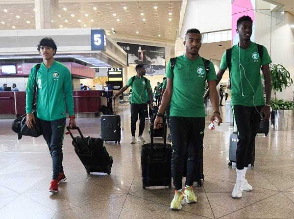 الأخضر تحت 23 عام يصل إلى دبي للمشاركة في الدورة الدولية