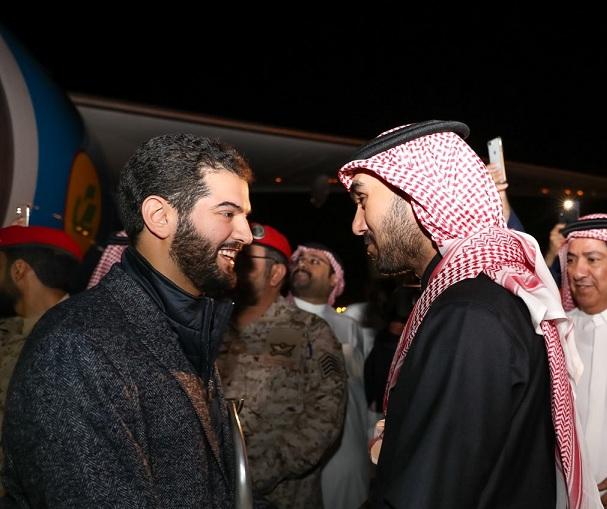الأمير عبدالعزيز الفيصل يستقبل أبطال آسيا