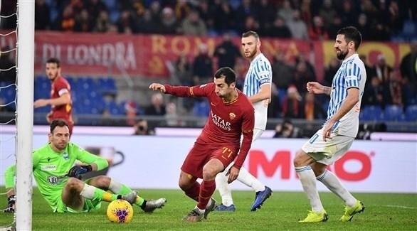 روما يستعيد انتصاراته بالفوز على سبال