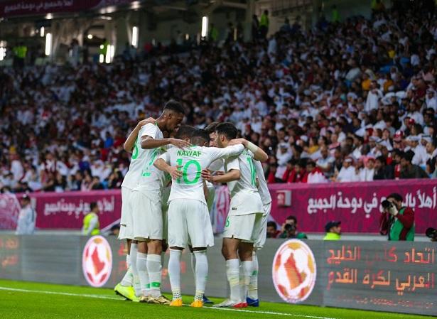 المنتخب السعودي يسقط قطر ويتأهل لنهائي كأس الخليج