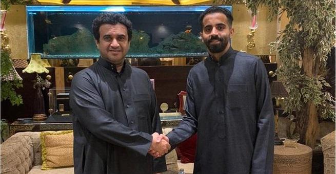 الشباب يتعاقد رسمياً مع حسين القحطاني