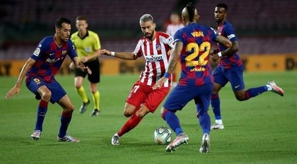 أتلتيكو مدريد يزيد معاناة برشلونة في الليغا