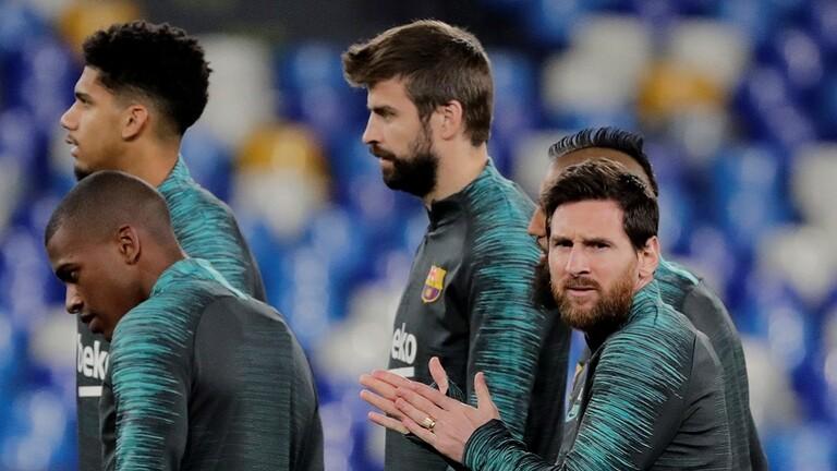 برشلونة يواجه إختبارا مصيريا أمام أتلتيكو مدريد