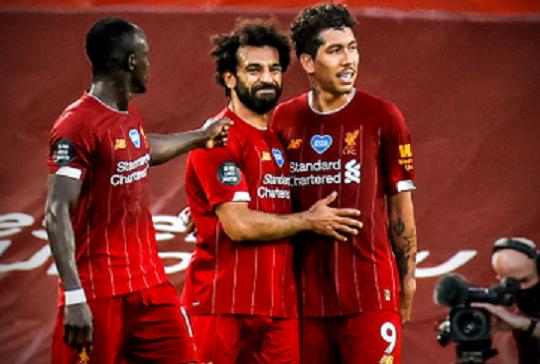 ليفربول على بُعد خطوة من التتويج بالدوري الإنجليزي