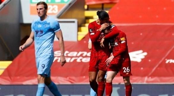 ليفربول يسقط في فخ التعادل الإيجابي أمام بيرنلي