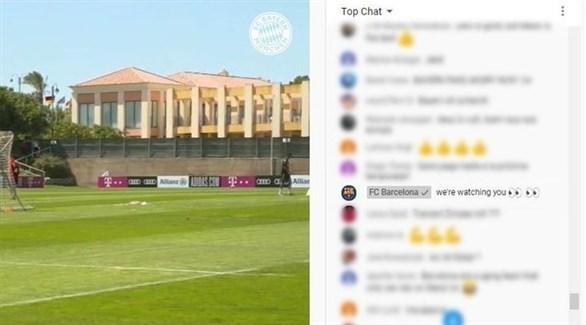 Photo of برشلونة يتجسس على تدريبات بايرن ميونيخ