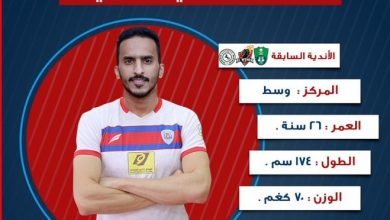 Photo of إدارة أبها تُنهي إجراءات التعاقد مع صالح العمري قادمًا من الاتفاق