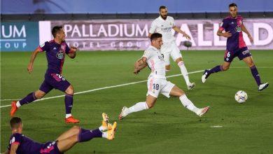 Photo of فينيسيوس يقود ريال مدريد لخطف نقاط بلد الوليد