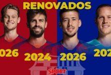 Photo of برشلونة يعلن تمديد عقود 4 من لاعبيه