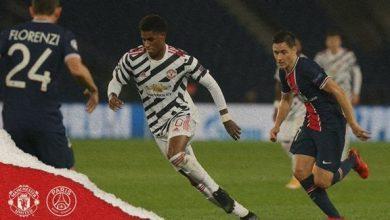Photo of مانشستر يونايتد يصدم سان جيرمان بفوز مثير في دوري الأبطال