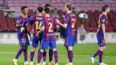 Photo of برشلونة يدك شباك فيرنكفاروش بخماسية