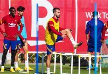 Photo of برشلونة يعود للتدريبات استعداداً لموقعة يوفنتوس