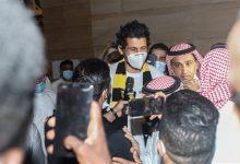 Photo of حجازي يحظى باستقبال حافل لدى وصوله إلى جدة