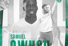 Photo of الأهلي يضم لاعب خط وسط منتخب غانا سامويل أوسو