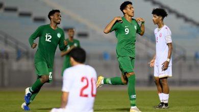Photo of الأخضر الشاب يهزم البحرين ودياً في ختام معسكر الدمام
