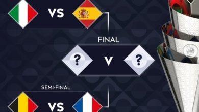 Photo of فرنسا تواجه بلجيكا وإيطاليا أمام إسبانيا في المربع الذهبي لأمم أوروبا