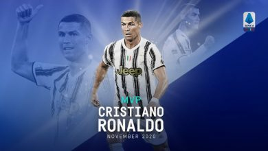 "Photo of رونالدو يتوج بجائزة أفضل لاعب في ""الكالتشيو"" خلال نوفمبر"