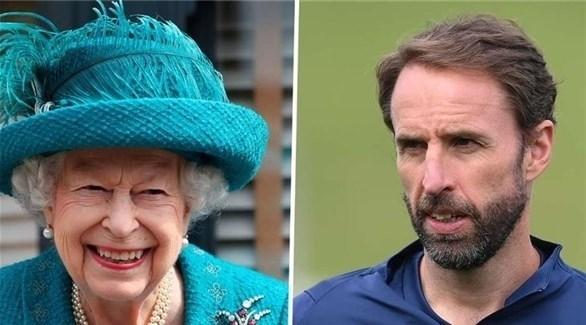 الملكة إليزابيث تدعم إنجلترا نهائي