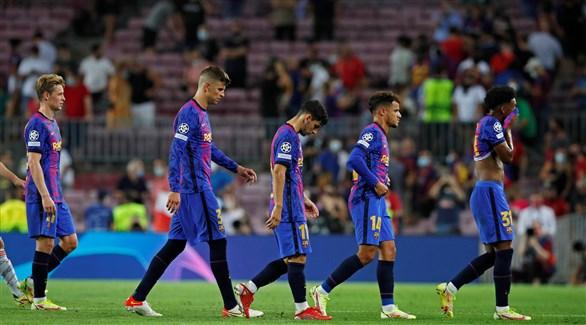 إحصائيات سلبية برشلونة دوري أبطال